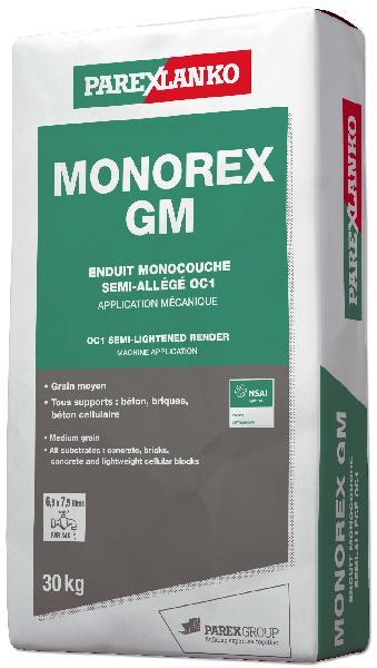 Enduit monocouche MONOREX GM G10 sac 30Kg