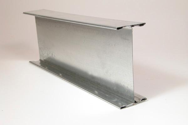 Profil porteur galva primaire VIC80 pour PLP 80x40mm 5,00m