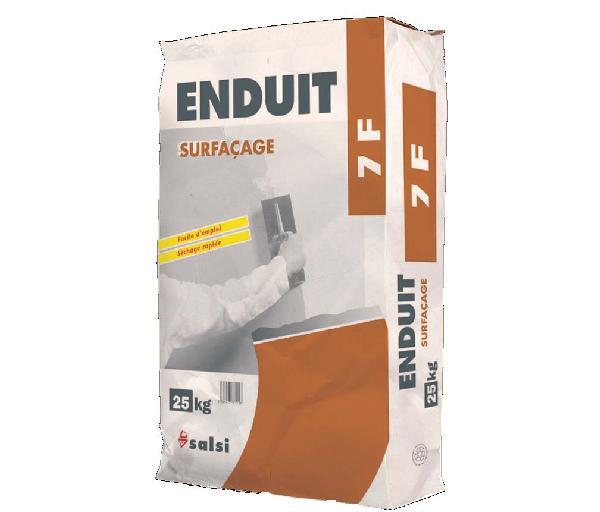 Enduit de lissage poudre SURFACAGE 7F sac 25kg