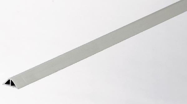 Liteau triangulaire PVC N°2 simple Ht15x15mmx20mmx2m