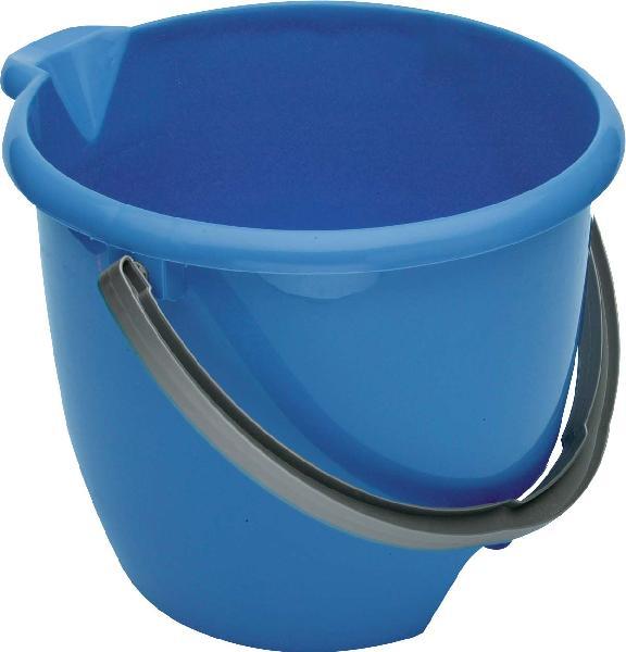 Seau de ménage bleu 12L