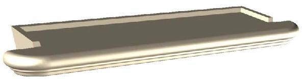 APPUI FENETRE 39X80X8 PROVENCE