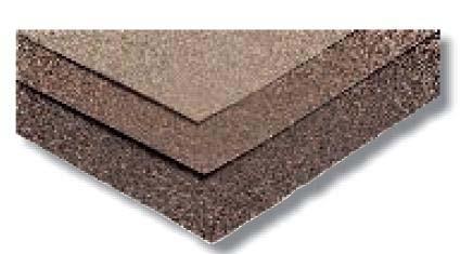 Feuilles abrasives grain moyen 230x280mm corindon G80 pochette 3