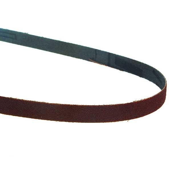 Bandes abrasives pour ponceuse à bande 9x533mm G100 set 5