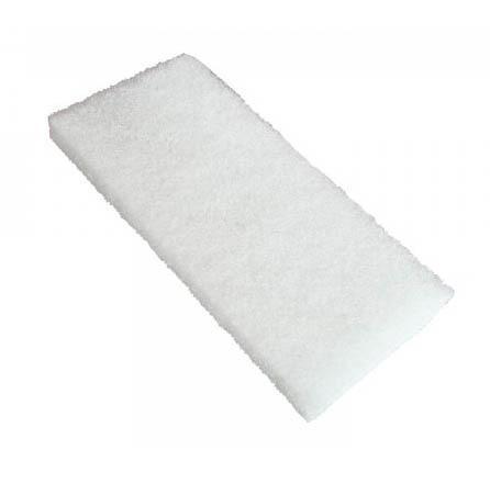 Feutre blanc grain fin