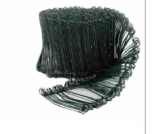 Liens à boucles recuits Ø1,1 Ht120mm couronne 1000