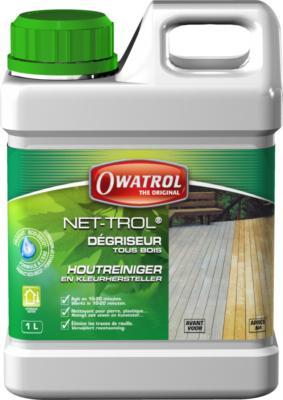 Dégriseur bois NET-TROL extérieur 1L