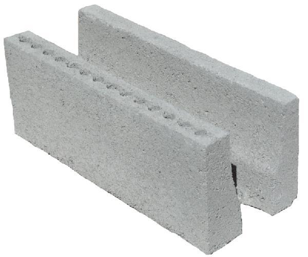 Bloc linteau 20x20x50 CE+NF