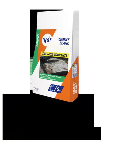 Ciment blanc sac 5kg