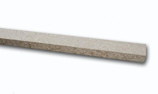 rail bois aggloméré pour cloison alvéolaire 28x18mmx2,05m