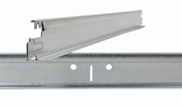 Entretoise à crochet TP4024SB 37x24mm super blanc 1,20m