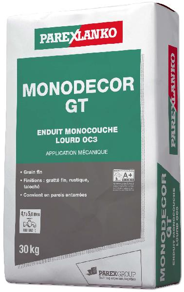 Enduit monocouche MONODECOR GT G10 sac 30Kg