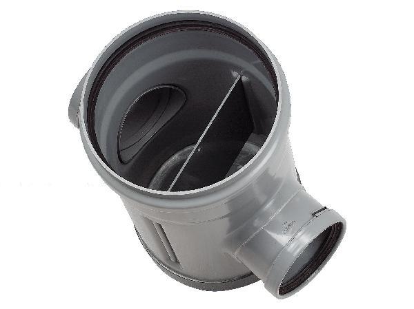 Tabouret PVC lesté disconnecteur Ø250 femelle-femelle 160-160mm