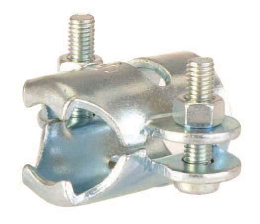 Collier de serrage zingué Ø22