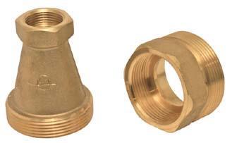 Réduction recalibrage compteur laiton DN30-20 40/49 26/34 MF