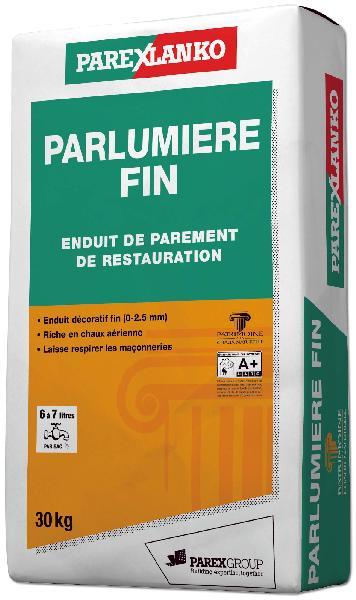 Enduit PARLUMIERE fin R80 30Kg