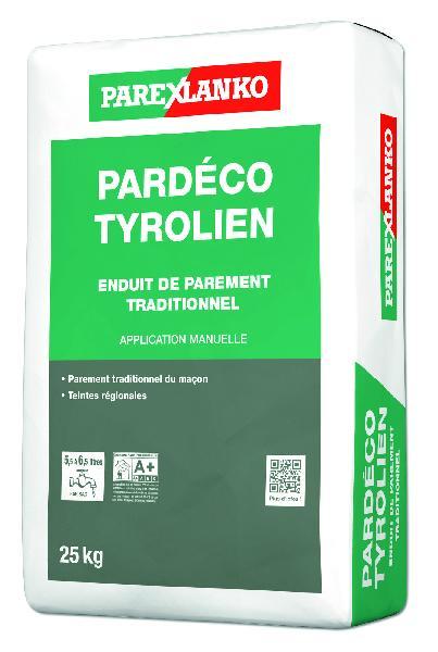 Enduit PARDECO TYROLIEN J20 25Kg