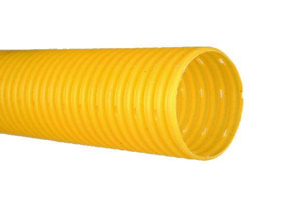 Drain PVC agricole perforé Ø80 50m