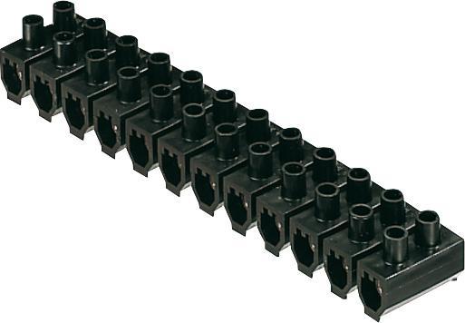 Barrette de connexion 4mm² noir