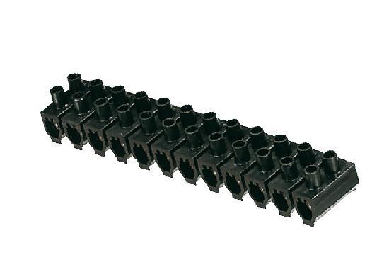Barrette de connexion 25mm² noir