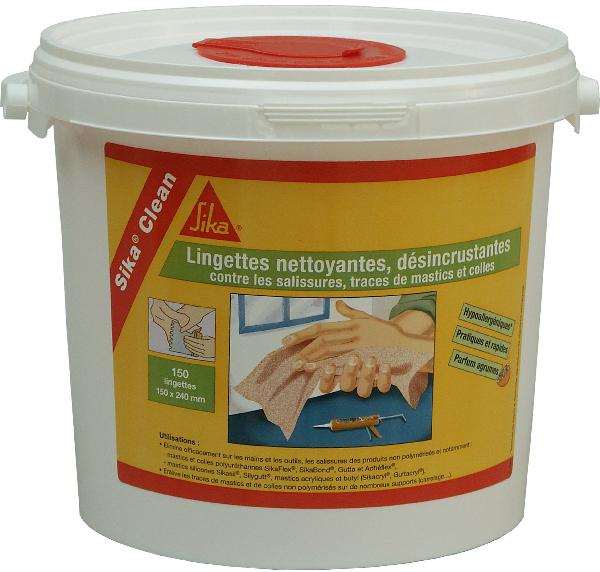 Lingettes SIKA CLEAN paquet 150