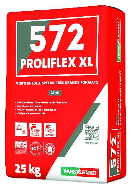 Mortier colle PROLIFLEX HP 572 gris sac 25kg
