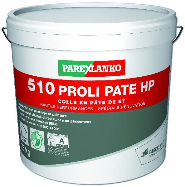 Colle carrelage PROLIPATE HP 510 blanc seau 25kg