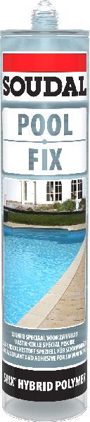 Mastic transparent spécial piscine cartouche 310ml