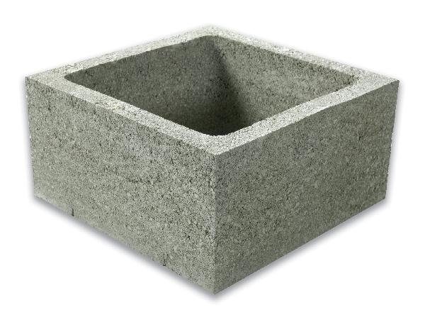 Bloc ECO pilier à enduire 39,5x39,5x20 CE