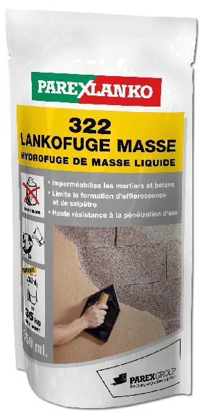 Hydrofuge de masse 322 LANKOFUGE MASSE dose 350ml