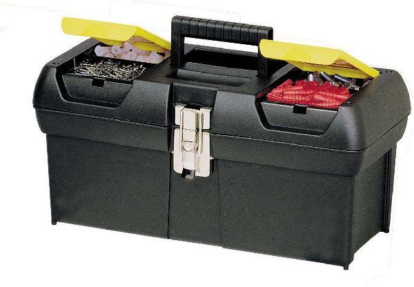 Caisse à outils plastique 610x270x284mm