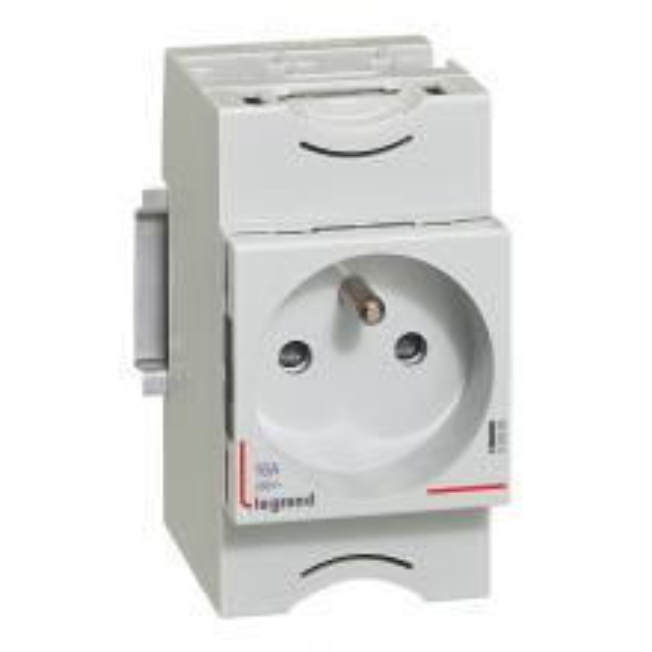 Prise de courant modulaire 10-16A 250V