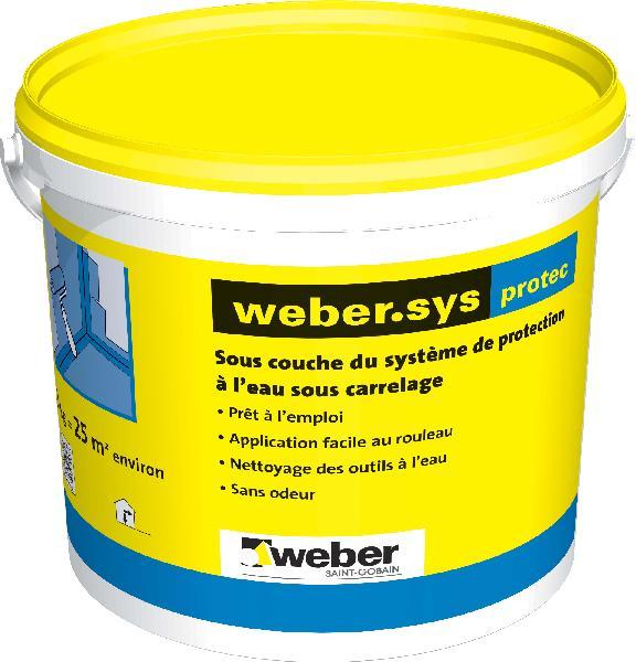 SOUS CARRELAGE WEBER.SYS PROTEC 20KG