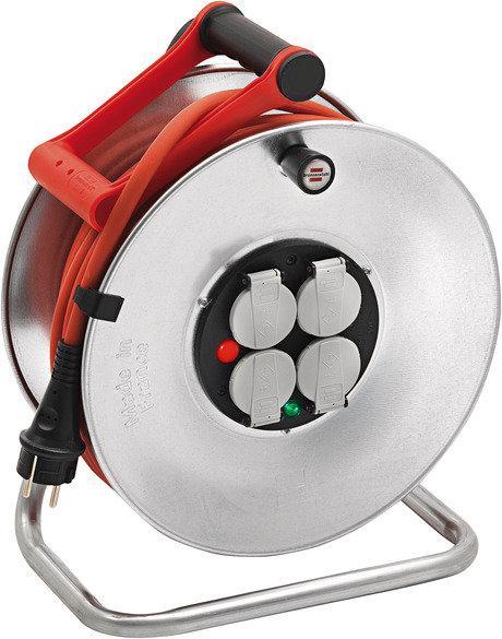 Enrouleur professionnel HO7RN-F 3G 1,5mm² SILVER 40m