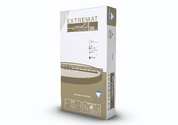 Ciment EXTREMAT gris CEM I SR3-PM CP2 52,5 N CE+NF sac 35kg
