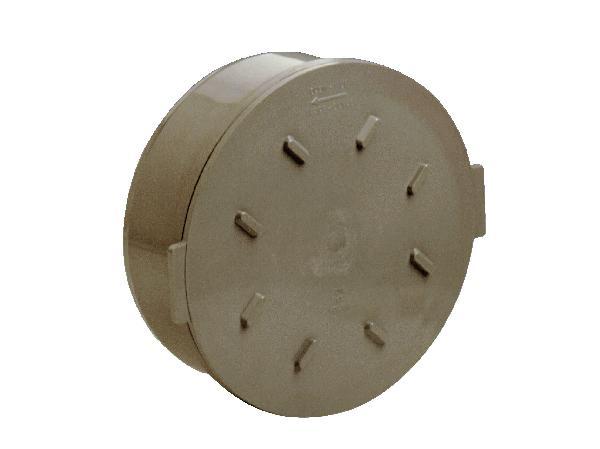 Couvercle PVC pour tabouret de branchement Ø315 mâle