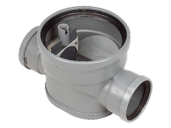 Tabouret PVC lesté avec pelle Ø315 femelle-femelle 160-160mm