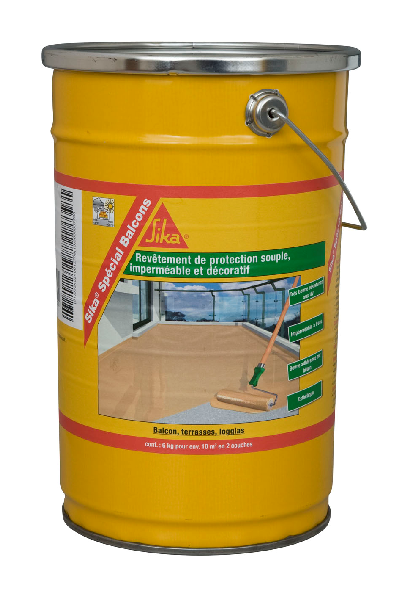 Revêtement imperméable SIKA SPECIAL BALCONS beige 6kg