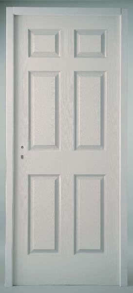 bloc porte postforme 6 panneaux rec isolant 204x73 dp huis 68x56. Black Bedroom Furniture Sets. Home Design Ideas