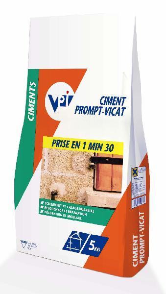 Ciment naturel PROMPT sac 5kg