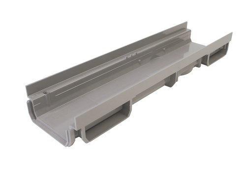 Caniveau PVC CONNECTO L98xH34mm nu gris 0,50m