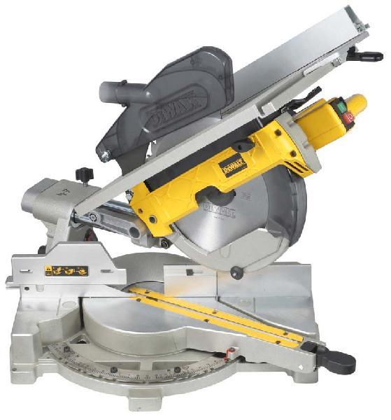 Scie à onglet radiale et à table D27111 Ø305mm 1500W