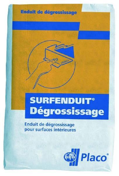 Enduit multifonction intérieur poudre SURFENDUIT DEGROSISSAGE sac 25kg