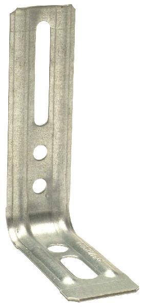 Equerre nervurée droite 71,5x115x30mm Ep.1,5mm