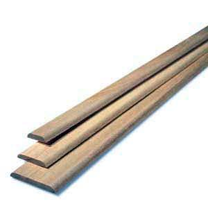 COUVRE-JOINT P0168 2 ARRONDIES 6X28MM 2,15M