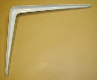 Console emboutie 350x300mm blanc acier