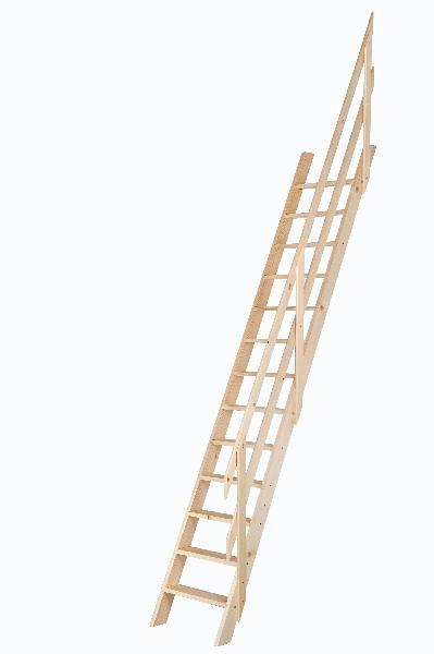 Echelle de meunier 275x50 avec rampe sapin