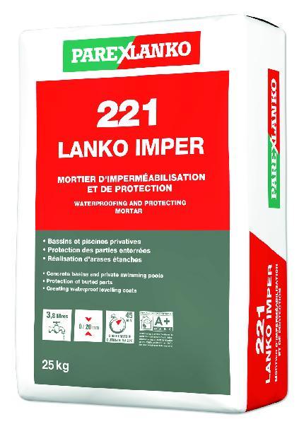Enduit imperméabilisation 221 LANKOIMPER sac 25kg