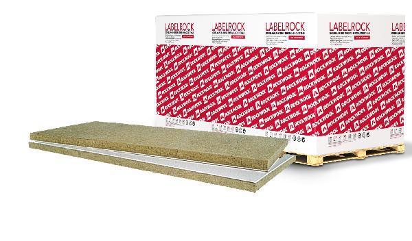 Doublage laine de roche LABELROCK 10+80 SPV 250x120cm R=2,4