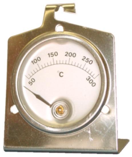 Thermomètre 0 à 300°c à poser